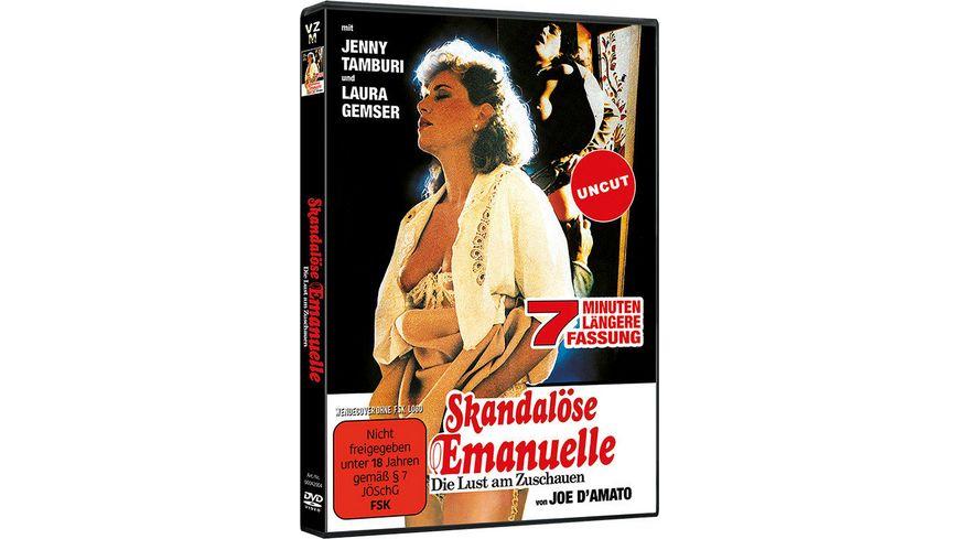 Skandalöse Emanuelle - Die Lust am Zuschauen (uncut)