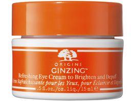 ORIGINS GinZing Refreshing Eye Cream to Brighten and Depuff Warm