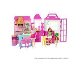 Barbie Restaurant inkl Puppe blond Barbie Bistro mit Zubehoer