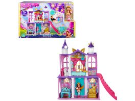 Enchantimals Royals Ballzauber Schloss mit Felicity Fox Puppe Flick Tierfigur