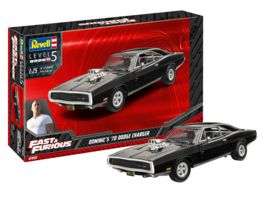 Revell 07693 Fast Furious Dominics 1970 Dodge Charger 1 25