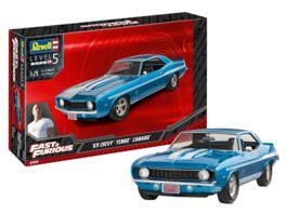 Revell 07694 Fast Furious 1969 Chevy Camaro Yenko 1 25