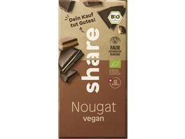 share Bio Schokolade Nougat