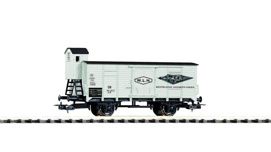 """PIKO 54736 - Gedeckter Güterwagen """"Westfälische Lokomotivfabrik Reuschling"""" DB III"""