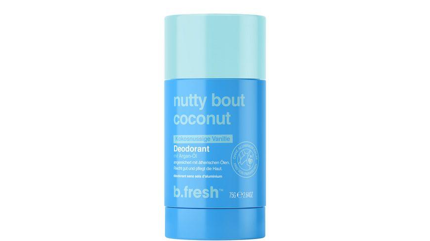 b.fresh nutty bout coconut Deodorant
