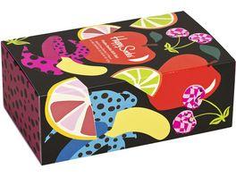 Happy Socks Unisex Socken Gift Set Fruits 3er Pack
