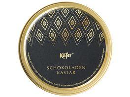 Kaefer Schokoladen Kaviar