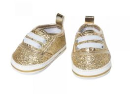 Heless Glitzer Sneakers gold Gr 38 45 cm