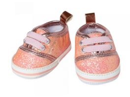 Heless Glitzer Sneakers rosa Gr 38 45 cm