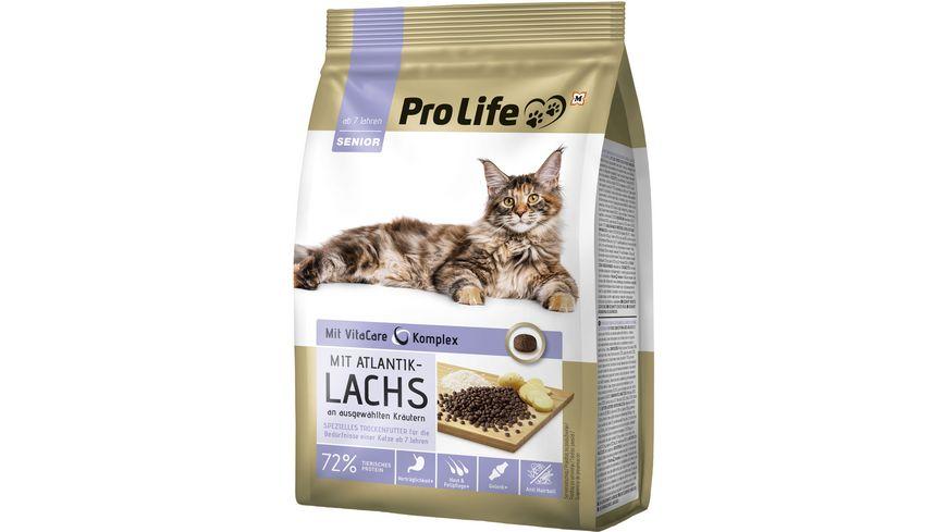 Pro Life Katze Trockenfutter mit Atlantiklachs an ausgewählten Kräutern
