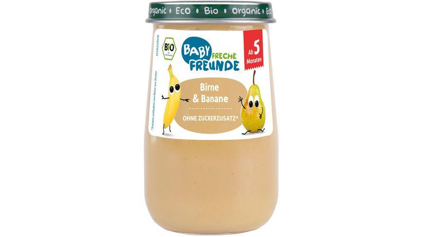 Freche Freunde Bio Gläschen Birne & Banane