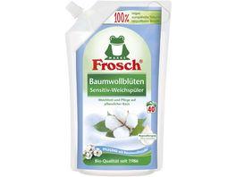 Frosch Baumwollblueten Sensitiv Weichspueler