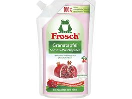 Frosch Granatapfel Sensitiv Weichspueler Nachfuellbeutel