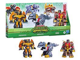 Hasbro Transformers Dinobot Adventures Dinobot Squad 3er Pack