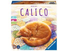 Ravensburger Spiel Calico Abwechslungsreiches Legespiel fuer Erwachsene Kinder und Katzen Fans ab 10 Jahren Ideal fuer Spieleabende fuer 1 4 Spieler