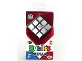 ThinkFun Rubiks Cube Metallic Der Klassiker der original Rubik s Zauberwuerfel mit Metallic Effekt Das Sammlerobjekt fuer jeden Rubiks Fan ab 8 Jahren