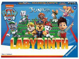 Ravensburger Spiel Paw Patrol Junior Labyrinth das bekannte Brettspiel von Ravensburger als Junior Version fuer Kinder ab 4 Jahren