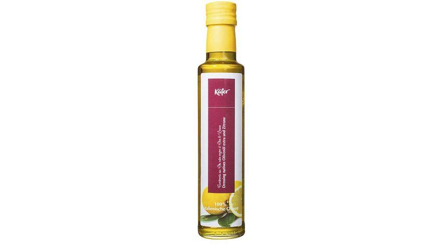 Käfer Dressing Natives Olivenöl Extra und Zitrone
