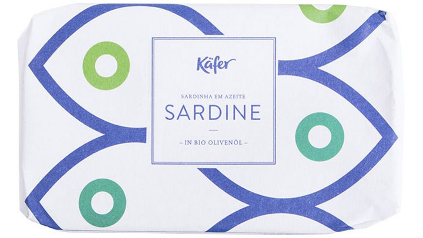 Käfer Sardinen in Bio-Olivenöl