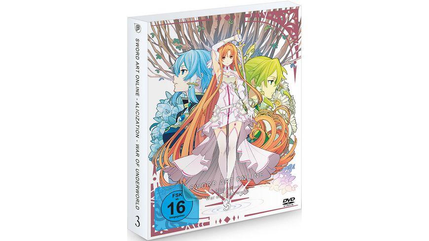 Sword Art Online: Alicization - War of Underworld - Staffel 3 - Vol.3  [2 DVDs]