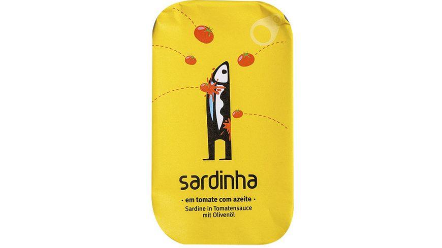 sardinha Sardinen in Tomatensauce mit Olivenöl
