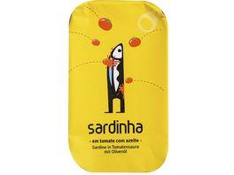 sardinha Sardinen in Tomatensauce mit Olivenoel