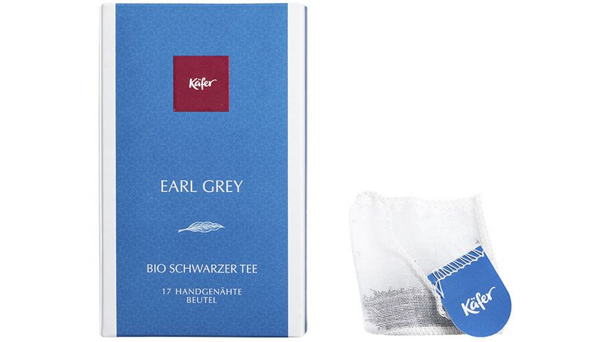 Käfer Bio Earl Grey Schwarzer Tee