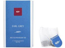 Kaefer Bio Earl Grey Schwarzer Tee