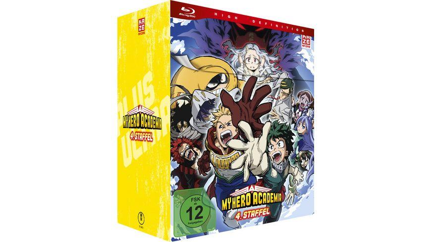 My Hero Academia - 4. Staffel - Blu-ray Vol. 1 + Sammelschuber (Limited Edition)