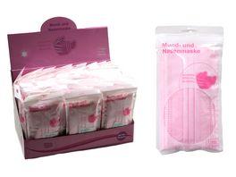 Mundschutz zum einmaligen gebrauch Pink