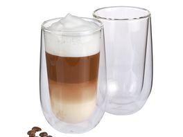 cilio Latte Macchiato Glaeser Set Verona 2 tlg