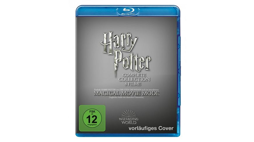 Harry Potter: The Complete Collection - Jubiläums-Edition - Magical Movie Mode  [9 BRs]