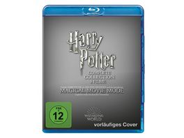 Harry Potter The Complete Collection Jubilaeums Edition Magical Movie Mode 9 BRs
