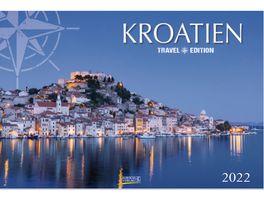 Bildwandkalender Kroatien 2022 58x39cm