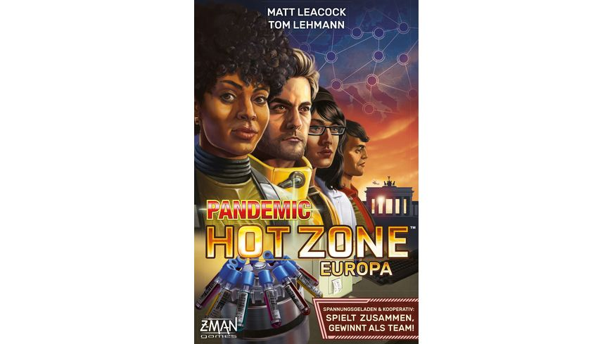 Z-Man Games - Pandemic Hot Zone Europa