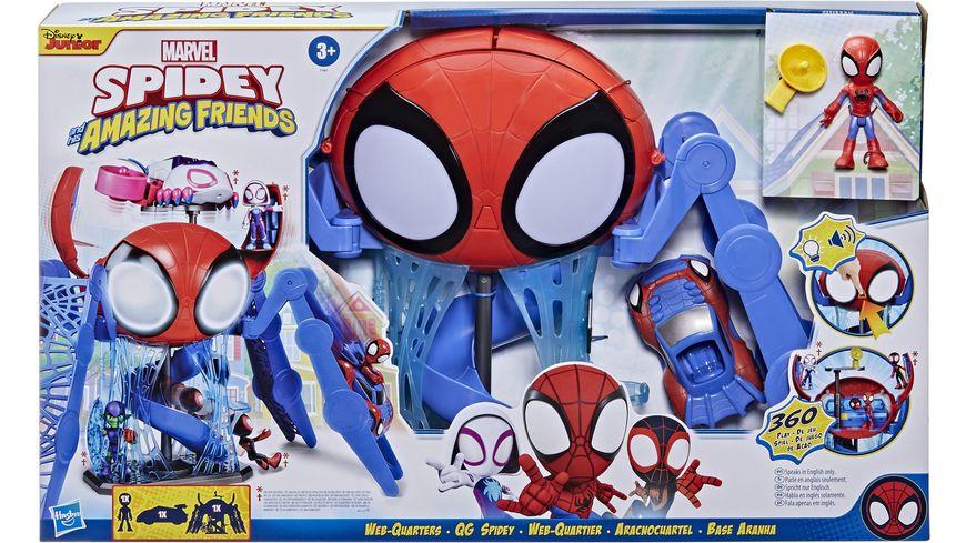 Hasbro - Marvel - Spidey and his Amazing Friends - Webquarters