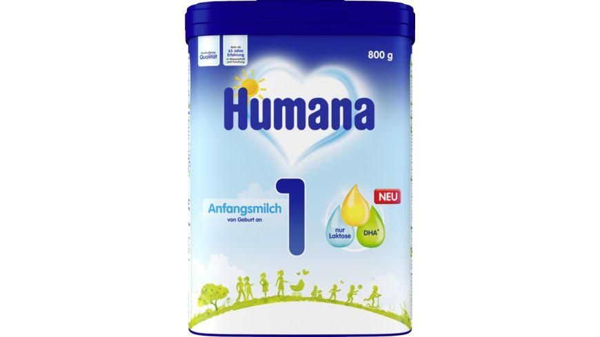 Humana Säuglingsmilchnahrung Anfangsmilch 1