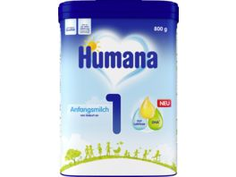 Humana Saeuglingsmilchnahrung Anfangsmilch 1