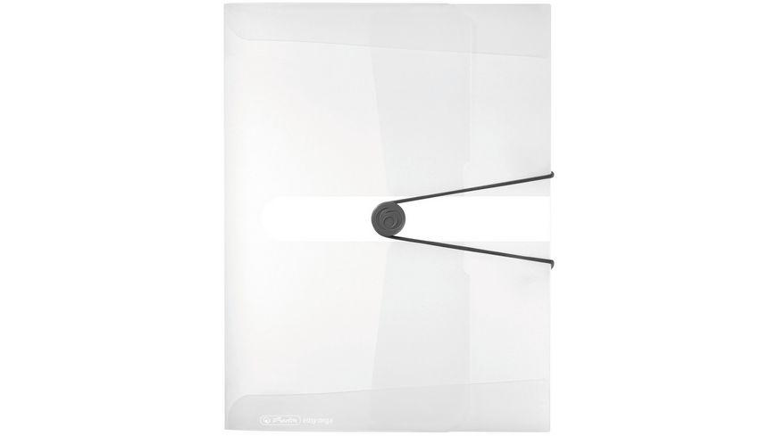 herlitz Sammelbox A4 PP transparent farblos 4cm easy orga to go