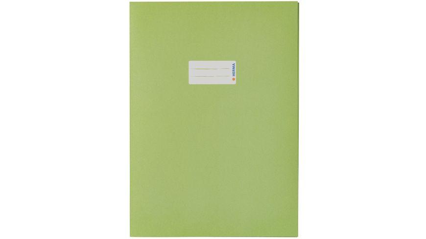 HERMA Heftschoner A4 aus Papier grasgrün