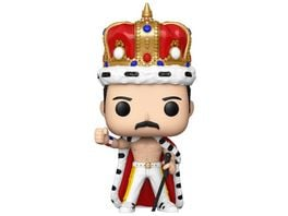 Funko POP Queen Freddie Mercury King Vinyl Sammelfigur