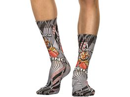 wigglesteps Herren Socken Tiger Boxer