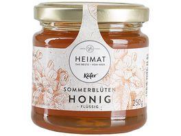 Kaefer Sommerblueten Honig Fluessig