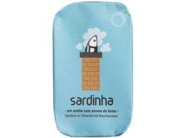 sardinha leicht geraeucherte Sardine in Olivenoel