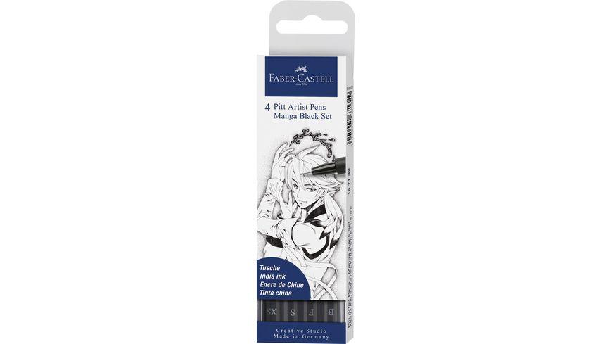 FABER-CASTELL  Tuschestift Pitt Artist Pen Farbe 199 4x