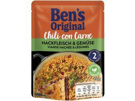 BEN S ORIGINAL Chili con Carne Hackfleisch Gemuese 250g