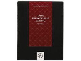 Kaefer Espresso Hausmischung gemahlen