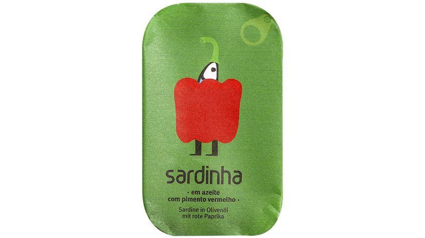 sardinha Sardine mit Paprika