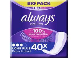 Always Slipeinlagen Extra Protect Long Plus BigPack 40ST
