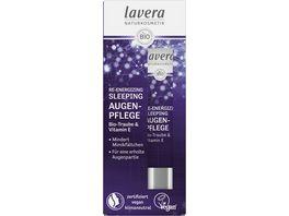 lavera Re Energizing Sleeping Augenpflege